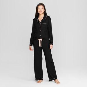 Gilligan & O'Malley Intimates & Sleepwear - Women's Total Comfort Notch Collar Pajama Set  XS